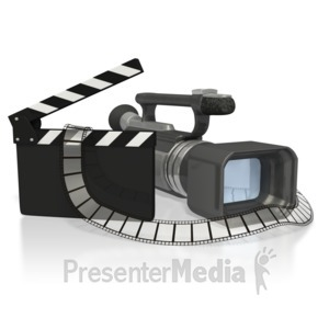 ID# 3500 - Film Production - Presentation Clipart