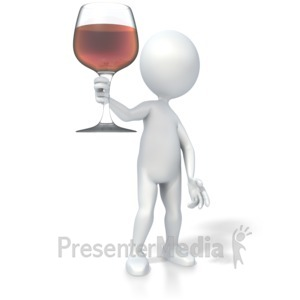 Presenter media powerpoint templates 3d animations and clipart id 3574 wine glass toast presentation clipart toneelgroepblik Image collections