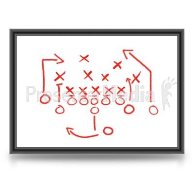 Game Plan Whiteboard PowerPoint Clip Art