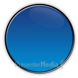 ID# 3704 - Circle Flow Chart Symbol  - Presentation Clipart