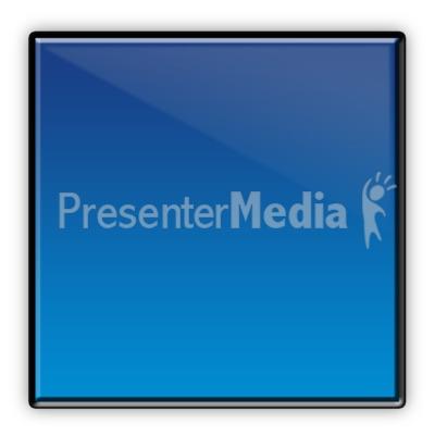 Square Flow Chart Symbol PowerPoint Clip Art