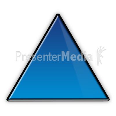 Triangle Flow Chart Symbol PowerPoint Clip Art