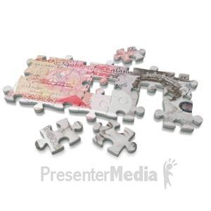 ID# 3753 - Pound Puzzle - Presentation Clipart