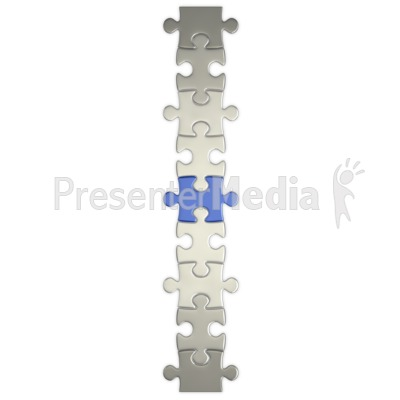Puzzle Piece Connect  PowerPoint Clip Art