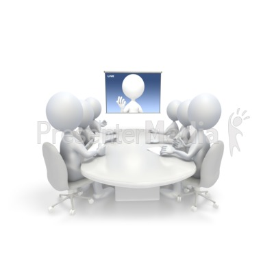 Video Conference PowerPoint Clip Art