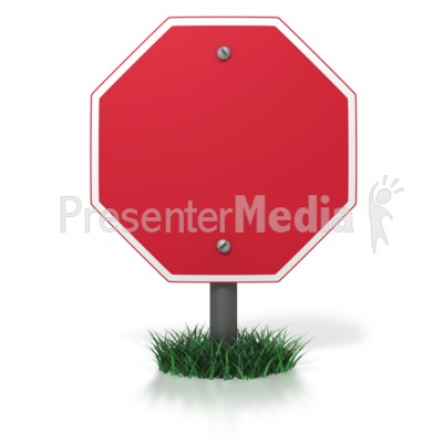 Blank Stop Sign - Signs and Symbols - Great Clipart for ...