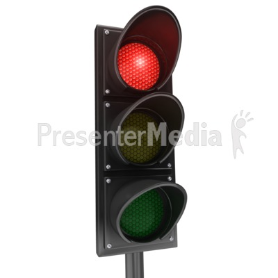 Traffic Light Red Stop - Signs and Symbols - Great Clipart for ...