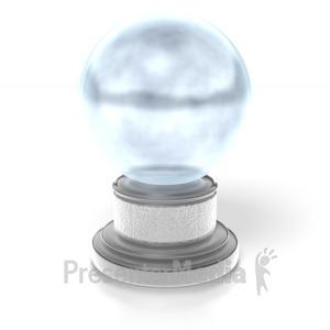 ID# 4146 - Crystal Ball - Presentation Clipart