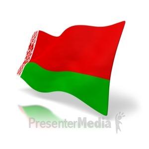 ID# 4166 - Belarus Flag - Presentation Clipart