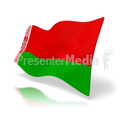 Belarus Flag PowerPoint Clip Art