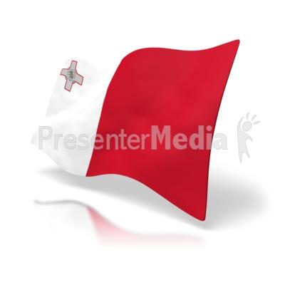 Malta Flag PowerPoint Clip Art