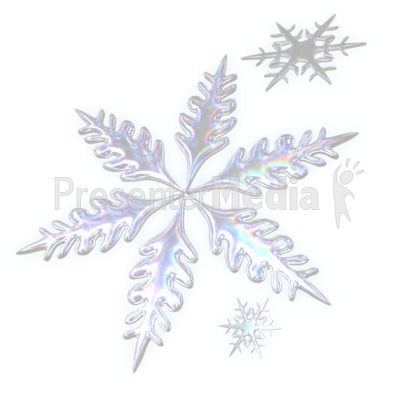 Three Snowflakes - Wildlife and Nature - Great Clipart for ...