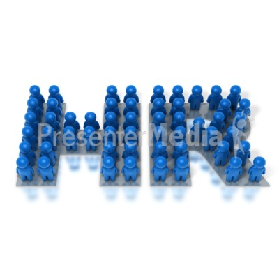 Human Resources Group PowerPoint Clip Art