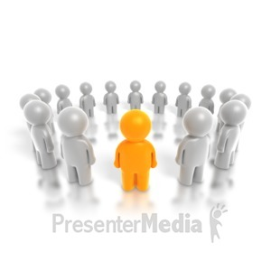 ID# 4266 - Group Leader Ring - Presentation Clipart