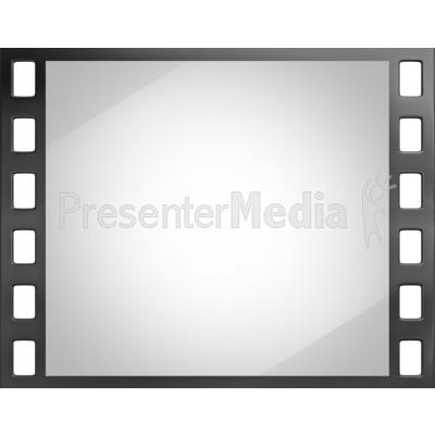Shiny Film Slide PowerPoint Clip Art