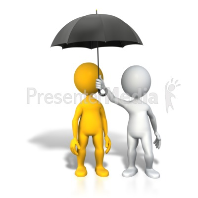 Umbrella puzzle protection a powerpoint template from id 4365 protection insurance umbrella presentation clipart toneelgroepblik Image collections