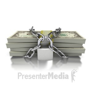 ID# 4369 - Investment Security - Presentation Clipart