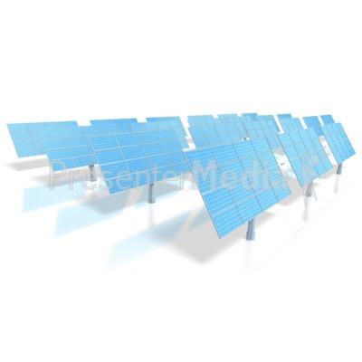 Solar Energy Power Panels  PowerPoint Clip Art