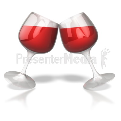 Wine glass toast celebration presentation clipart great wine glass toast celebration powerpoint clip art toneelgroepblik Image collections