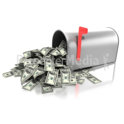 Mailbox Money Overflow - Business and Finance - Great Clipart for ...
