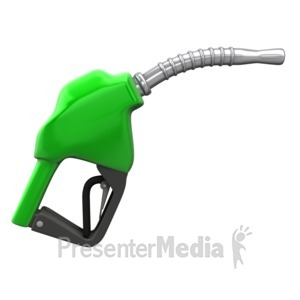 ID# 4870 - Gas Pump Nozzle - Presentation Clipart