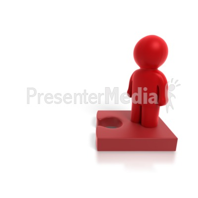 People Puzzle 2b PowerPoint Clip Art