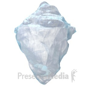 ID# 5249 - Iceberg - Presentation Clipart