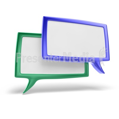 Discussion Icon PowerPoint Clip Art