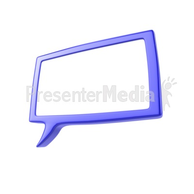 speech bubble - signs and symbols - great clipart for, Powerpoint templates