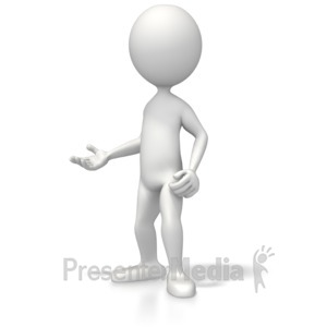 ID# 5307 - Casual Pose Three - Presentation Clipart