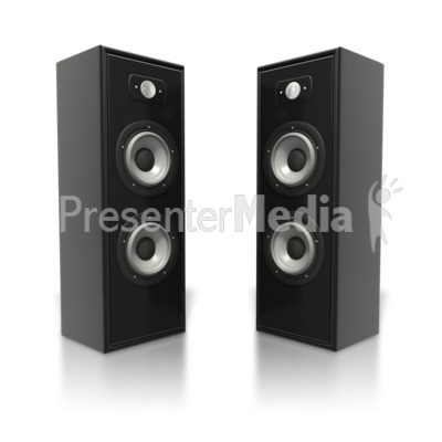 dj speakers clipart. large speaker towers powerpoint clip art dj speakers clipart