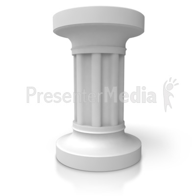 Three pillars signs and symbols great clipart for id 5428 single pillar presentation clipart toneelgroepblik Images