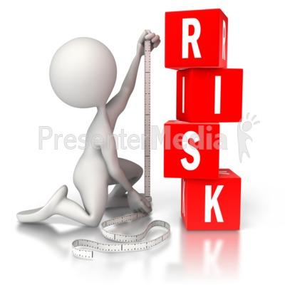Risk Measurement PowerPoint Clip Art