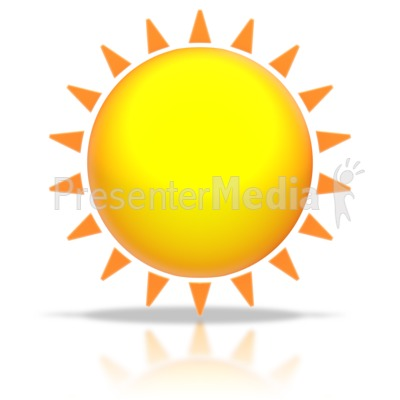 Sun Shine PowerPoint Clip Art