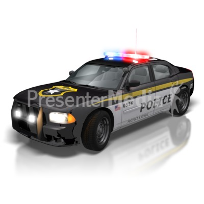 Police Car Lights Signs And Symbols Great Clipart For