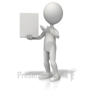 ID# 5521 - Presenting Product - Presentation Clipart