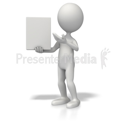 Presenting Product PowerPoint Clip Art