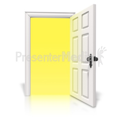 Open Door Clipart bright light door - home and lifestyle - great clipart for