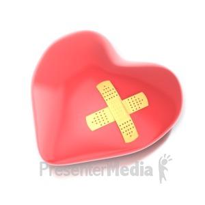 ID# 5601 - Healing Heart - Presentation Clipart