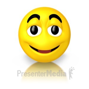 ID# 5616 - Smile Guy - Presentation Clipart