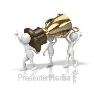 ID# 5702 - Team Trophy - Presentation Clipart