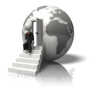 ID# 5711 - Global Business Trip - Presentation Clipart