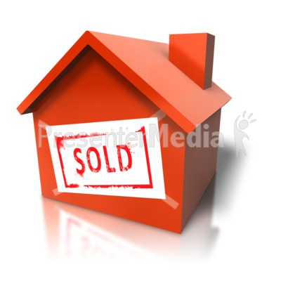 House With Sold Sign - Signs and Symbols - Great Clipart for ...