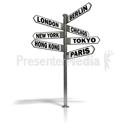Intersection Street Sign - Signs and Symbols - Great Clipart for ...