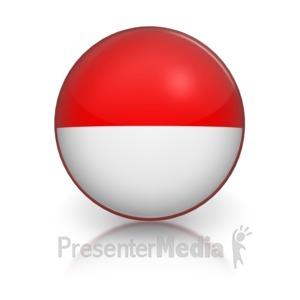 ID# 5805 - Harvey Ball Representing Very Good - Presentation Clipart