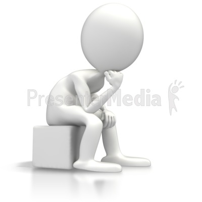 the thinker education and school great clipart for presentations rh presentermedia com thinking clipart thinker clipart free
