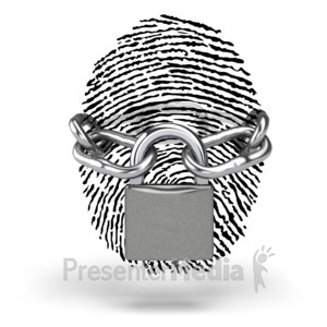 ID# 5841 - Secure Identity - Presentation Clipart