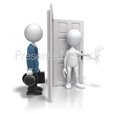 Open Door Welcome Clipart house front door open close