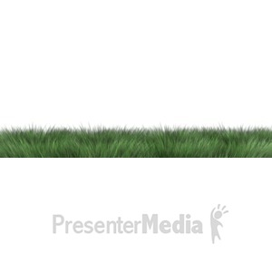 ID# 5884 - Long Grass  - Presentation Clipart