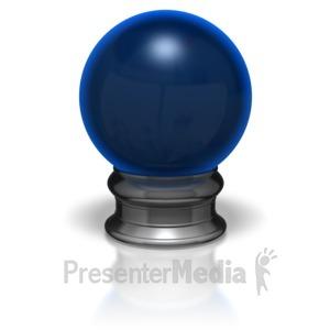 ID# 5900 - Crystal Ball - Presentation Clipart